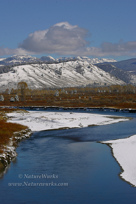 Buffalo Fork a tributary of Snake River | Bridger-Teton National