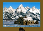 Cabin – Grand Teton Mountains